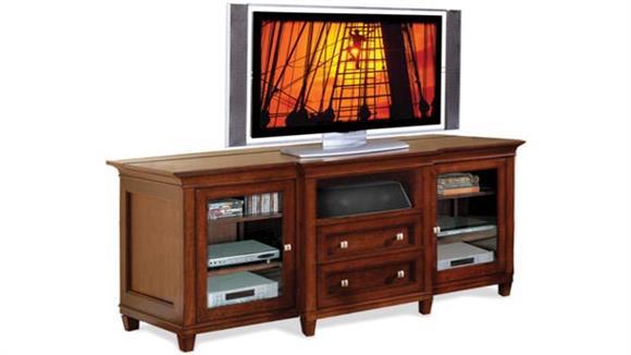 "TV Stands Martin Furniture 72"" Flat Panel TV Console"