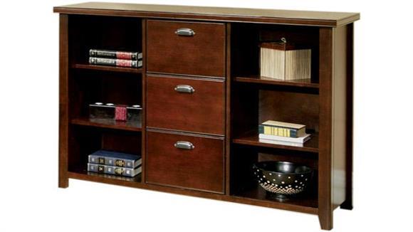 File Cabinets Vertical Martin Furniture Three Drawer File / Bookcase