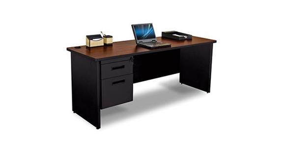 """Steel & Metal Desks Marvel Office Furniture 72"""" x 24"""" Single Pedestal Steel Credenza"""