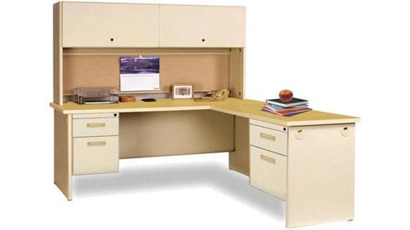 L Shaped Desks Marvel Office Furniture Steel L Shaped Desk with Hutch
