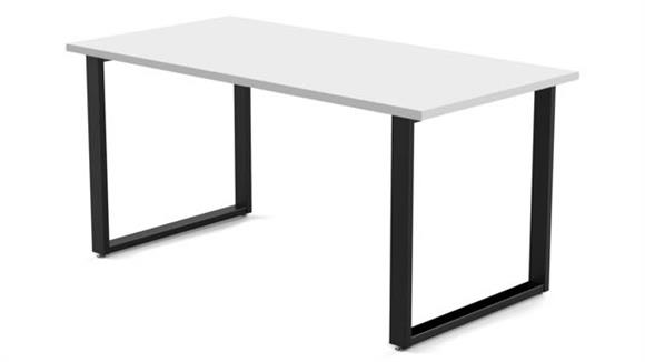 "Computer Desks Marvel 60""W x 24""D Desk with Wire Management"