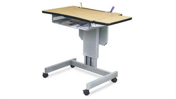 Adjustable Height Desks & Tables Marvel Mobile Focus Adjustable Height Desk