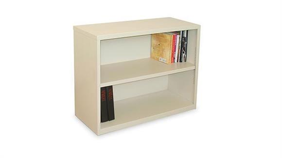 Bookcases Marvel Steel 2 Shelf Bookcase