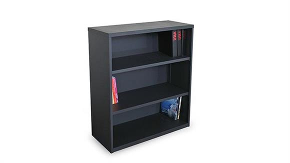 Bookcases Marvel Steel 3 Shelf Bookcase