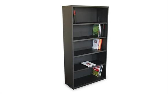 Bookcases Marvel Steel 5 Shelf Bookcase