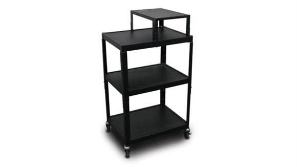 AV Carts Marvel MV2642 Cart with Expansion Shelf and Electrical