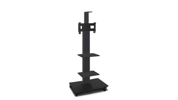 """AV Carts Marvel TV/Monitor Stand and Mount with Two Equipment Shelves and Camera Shelf (holds 26"""" - 32"""" TV)"""