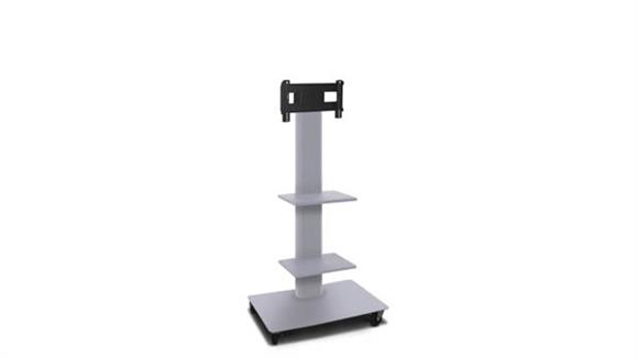 """AV Carts Marvel TV/Monitor Stand and Mount with Two Shelves (holds 26"""" - 32"""" TV)"""