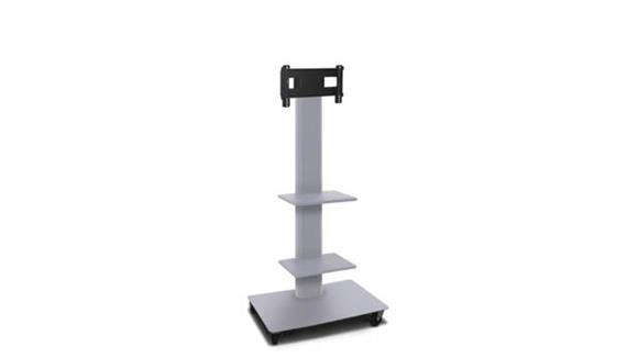 """AV Carts Marvel TV/Monitor Stand and Mount with Two Equipment Shelves (holds 26"""" - 32"""" TV)"""
