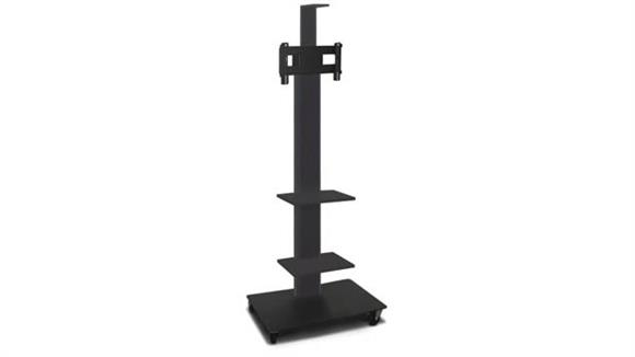 """AV Carts Marvel TV/Monitor Stand and Mount with Two Equipment Shelves and a Camera Shelf (holds 26"""" - 32"""" TV)"""