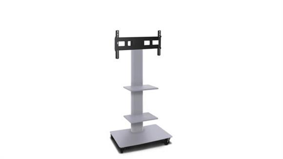"""AV Carts Marvel TV/Monitor Stand and Mount with Two Shelves (holds 35"""" - 55"""" TV)"""