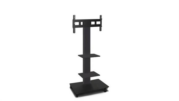 """AV Carts Marvel TV/Monitor Stand and Mount with Two Equipment Shelves (holds 35"""" - 55"""" TV)"""