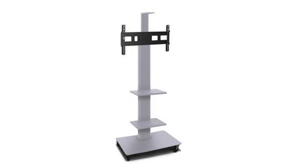 "AV Carts Marvel TV/Monitor Stand and Mount with Two Equipment Shelvesand Camera Shelf (holds 35"" - 55"" TV)"