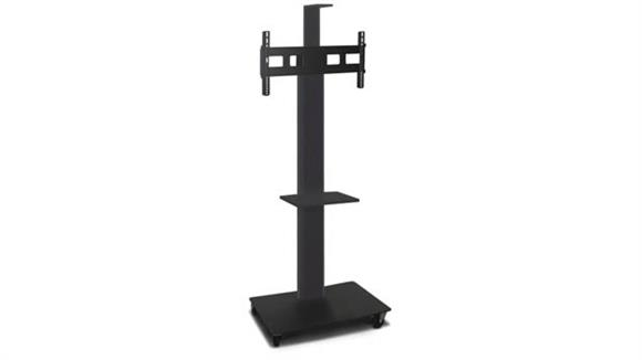 """AV Carts Marvel TV/Monitor Stand and Mount with Equipment Shelf and Camera Shelf (holds 35"""" - 55"""" TV)"""