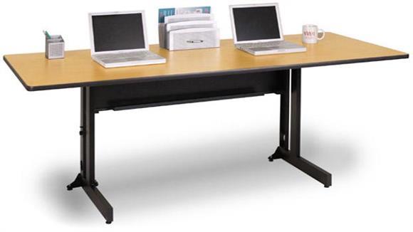 "Folding Tables Marvel 48"" x 24"" Rectangular Folding Training Table"