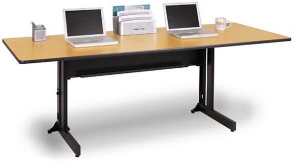 "Folding Tables Marvel 60"" x 24"" Rectangular Folding Training Table"