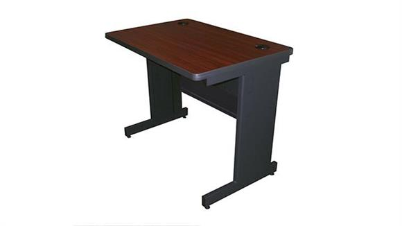 "Training Tables Marvel 36"" x 24"" Training Table with Modesty Panel"
