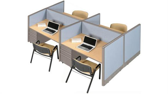 Workstations & Cubicles Marvel Four Person Workstation