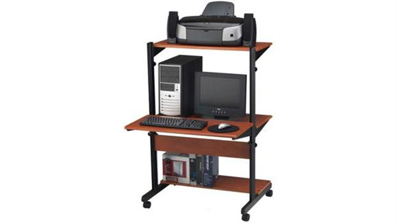 Computer Carts Mayline Adjustable Computer Table