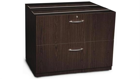 "File Cabinets Lateral Mayline 36"" Credenza Lateral File"