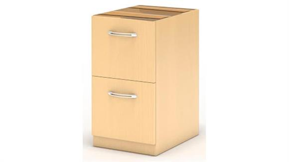 File Cabinets Vertical Mayline Credenza File/File Pedestal