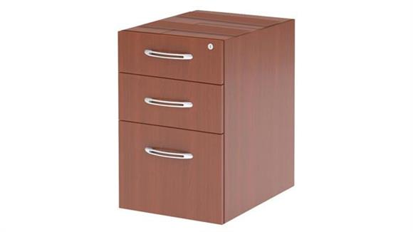 File Cabinets Vertical Mayline Suspended Credenza Pencil/Box/File Pedestal