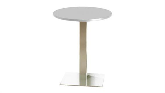 "Conference Tables Mayline 30"" Round Bar Height Table"