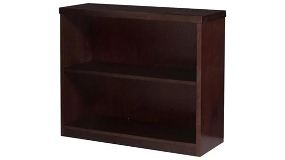"Bookcases Mayline 29"" Wood Veneer Bookcase"