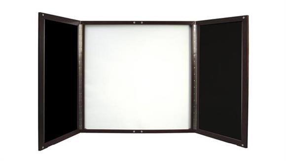 Bulletin & Display Boards Mayline Presentation Board
