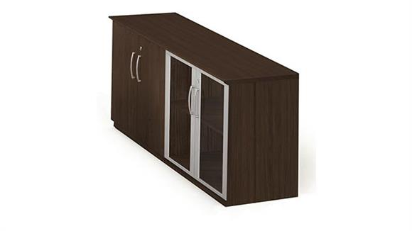 Storage Cabinets Mayline Low Wall Cabinet with Doors