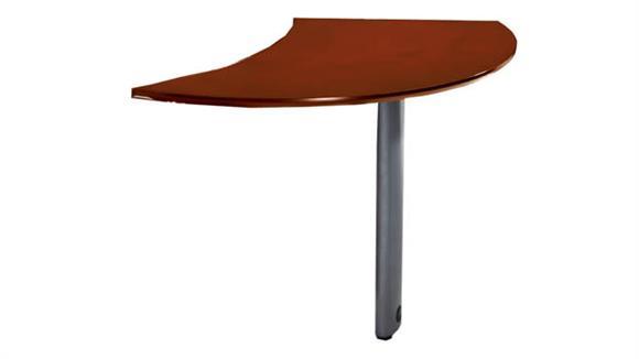 Desk Parts & Accessories Mayline Curved Desk Left Extension
