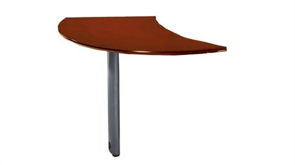 Desk Parts & Accessories Mayline Curved Desk Right Extension