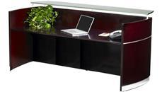 Reception Desks Mayline Napoli Reception Station