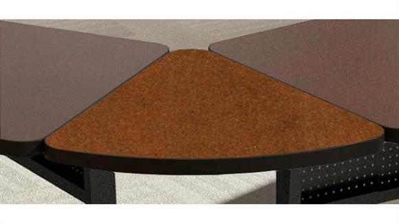 """Training Tables Mayline 30"""" x 60° Pie Connector"""
