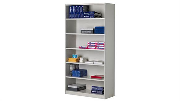"Bookcases Mayline 42""W Bulk Storage Shelving Unit"