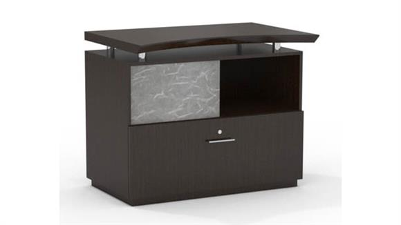 File Cabinets Lateral Mayline Single Lateral File with Acrylic Door
