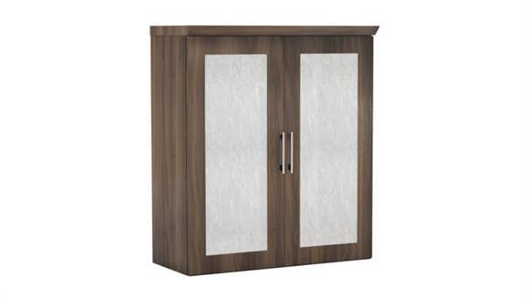 "Storage Cabinets Mayline 36"" Storage Cabinet with Acrylic Doors"