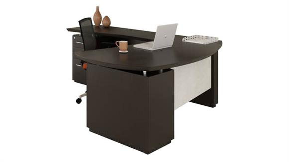"L Shaped Desks Mayline 72"" L Shaped Desk"