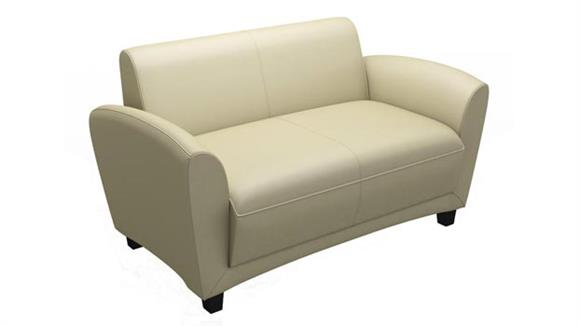 Loveseats Mayline Leather Loveseat