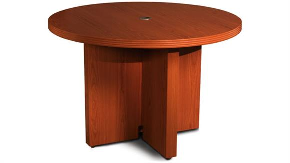 "Conference Tables Mayline 42"" Round Conference Table"