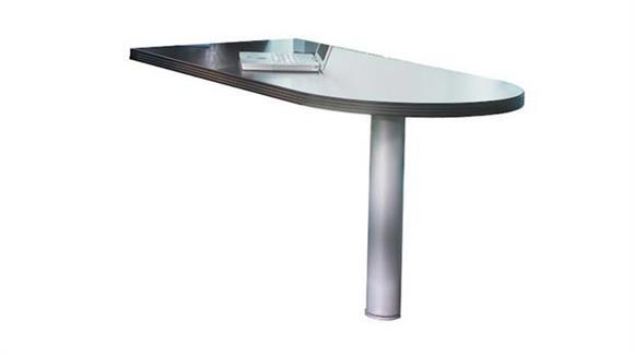 "Desk Parts & Accessories Mayline 60"" x 30"" Peninsula Return"