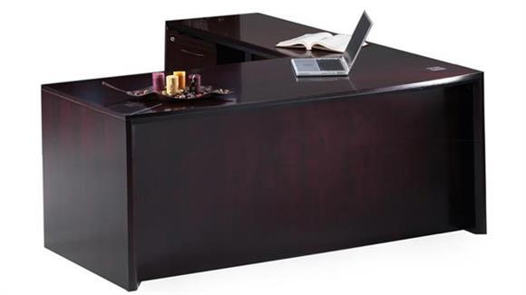 L Shaped Desks Mayline Office Furniture 72 Desk