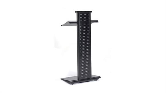 Podiums & Lecterns Mayline Office Furniture Lighted Lecturn