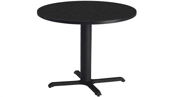 "Conference Tables Mayline Office Furniture 30"" Round Conference Table"