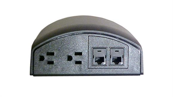 Desk Parts & Accessories Mayline Office Furniture Power and Data Module