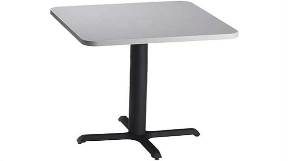 "Conference Tables Mayline Office Furniture 30"" Square Hospitality Table"