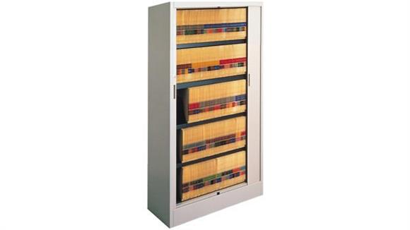 """File Cabinets Vertical Mayline Office Furniture 42""""W Five Tier File Harbor Cabinet"""
