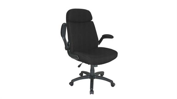 Big & Tall Mayline Office Furniture Big and Tall Pivot Arm Chair