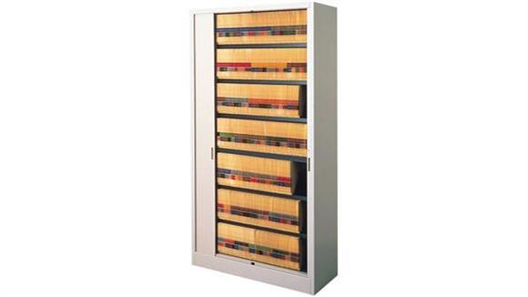 "File Cabinets Vertical Mayline Office Furniture 42""W Seven Tier File Harbor Cabinet"