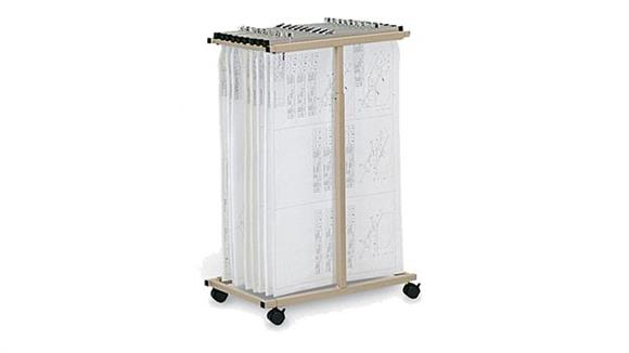 Flat File Cabinets Mayline Office Furniture Expandable Mobile Plan Center
